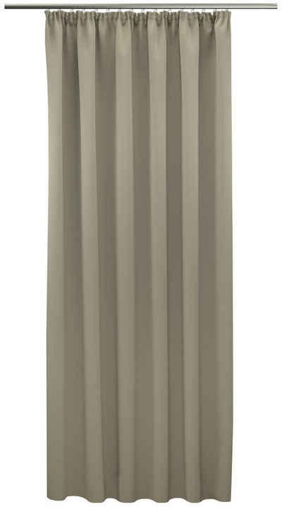 Gardine nach Maß »Leon«, VHG, Kräuselband (1 Stück), Verdunkelung, Dim Out, Deko, Breite 145 cm