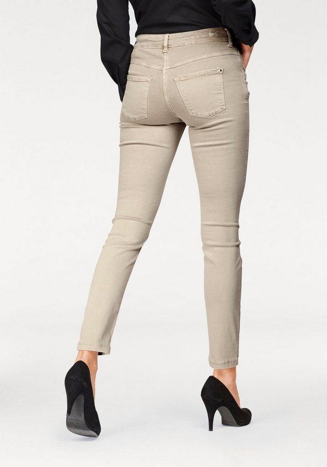 mac gerade jeans dream skinny 1 tlg hochelastische. Black Bedroom Furniture Sets. Home Design Ideas