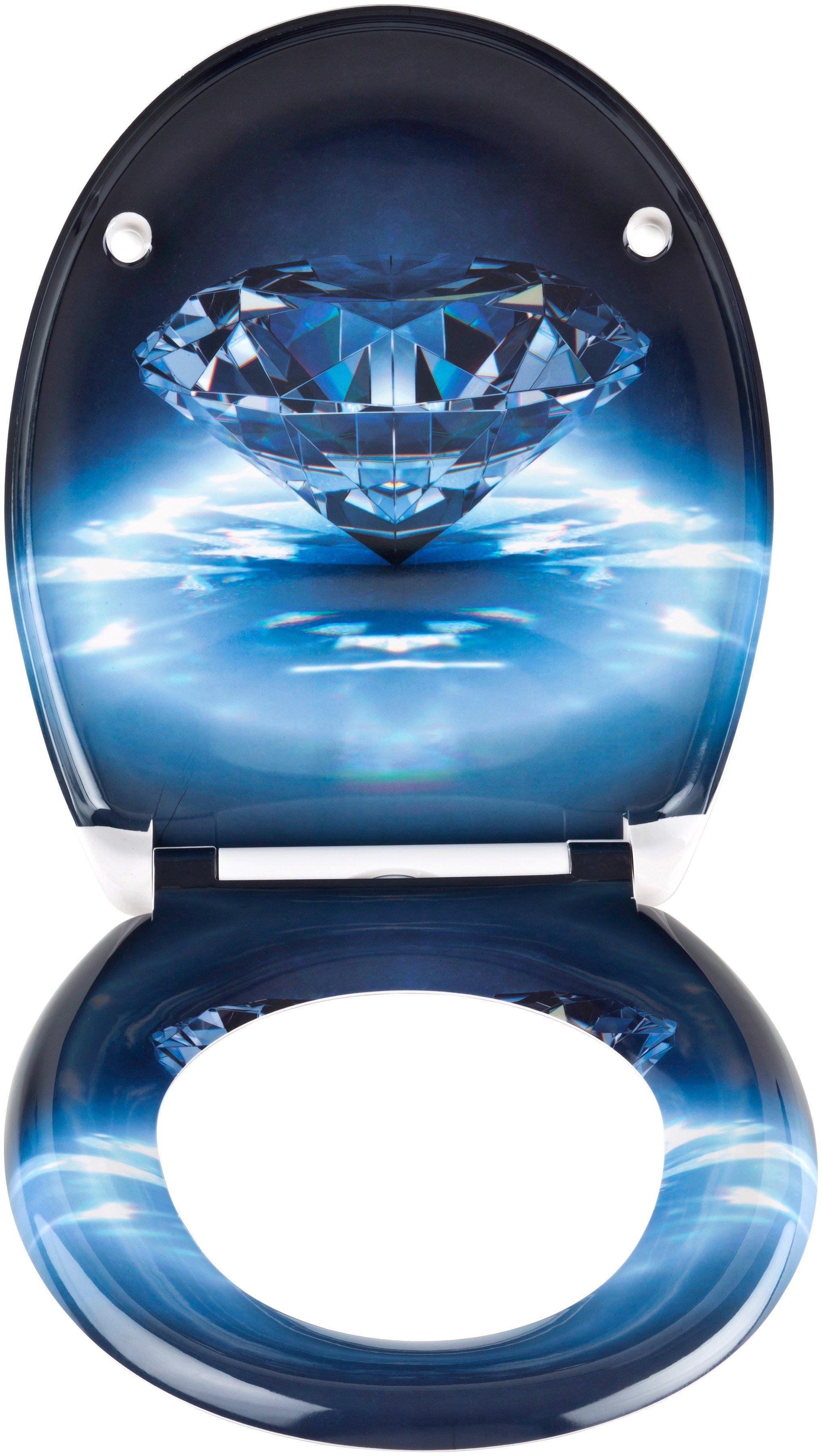 SCHÜTTE WC-Sitz »Diamond«