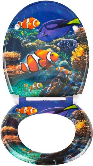 WCs und Zubehör - SCHÜTTE WC Sitz »Sea Life«  - Onlineshop OTTO