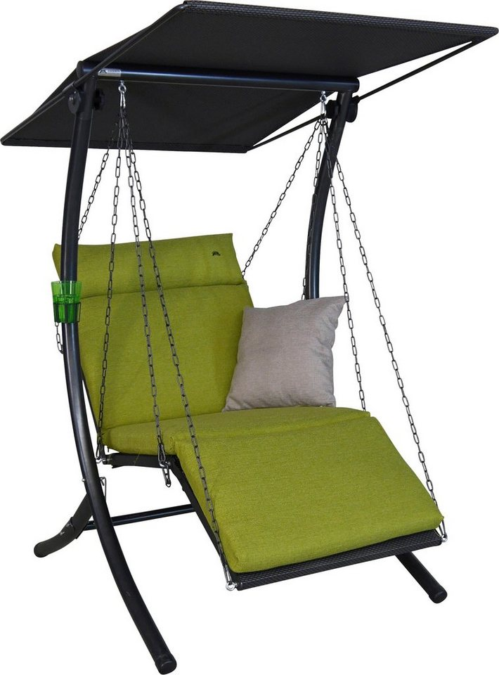 angerer freizeitm bel hollywoodschaukel swing smart 1 sitzer gr n online kaufen otto. Black Bedroom Furniture Sets. Home Design Ideas