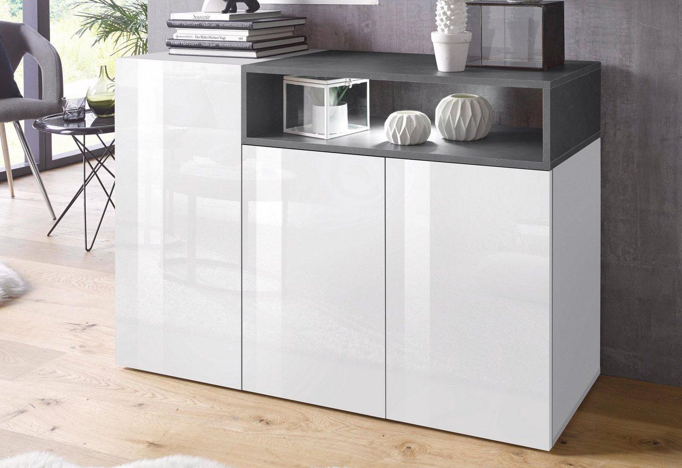 Tecnos Sideboard »Negroni«, Breite 120 cm - Tecnos