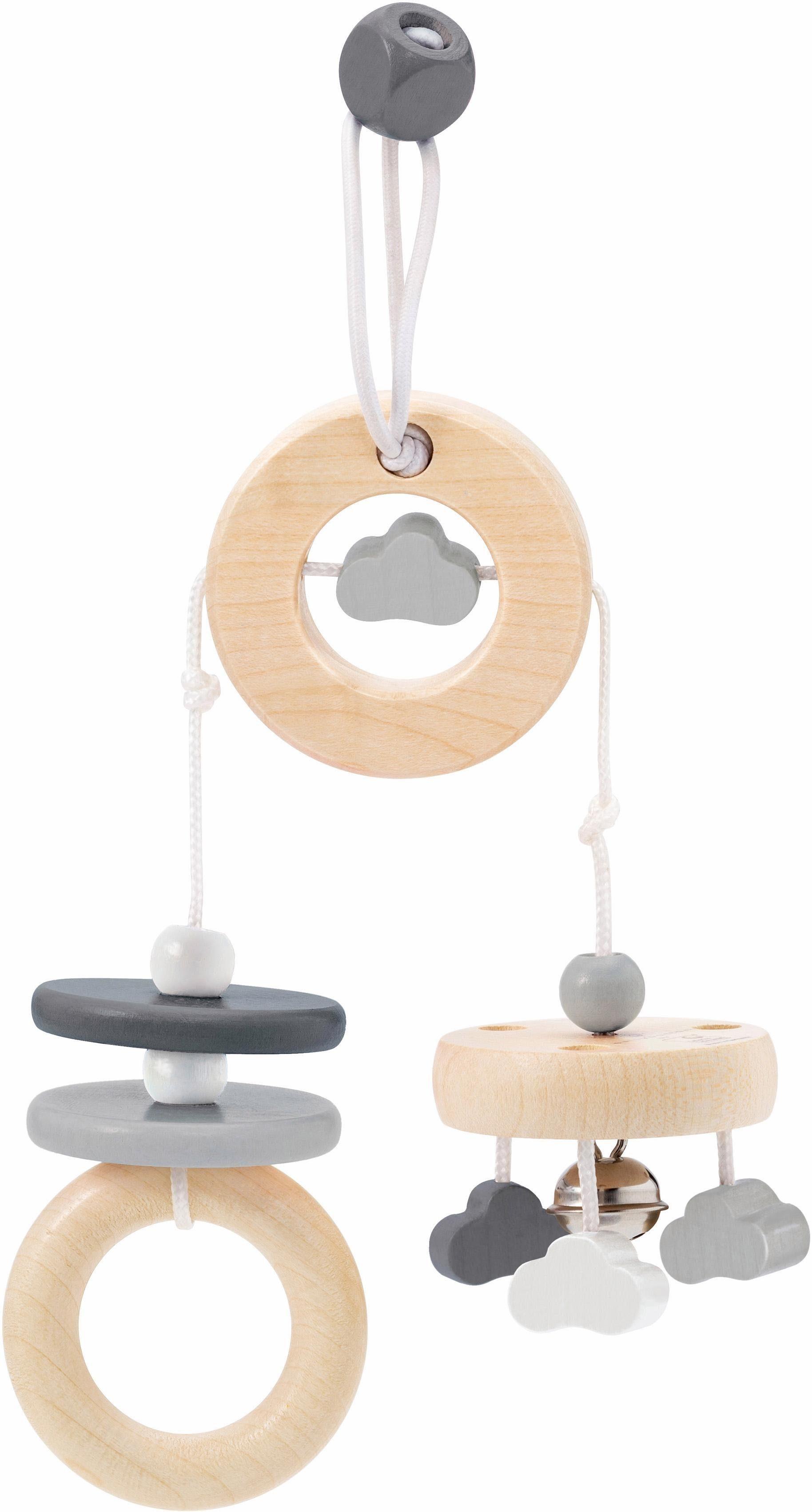 Selecta Spielanhänger für die Babyschale aus Holz, »Wolken Spaß«