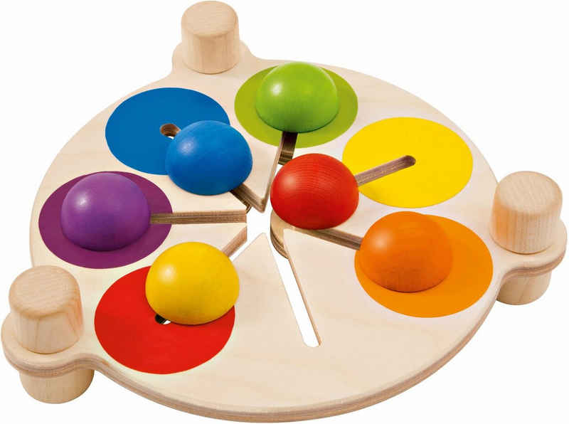 Selecta Spiel, »Farbenschubser«, aus Holz, Made in Germany