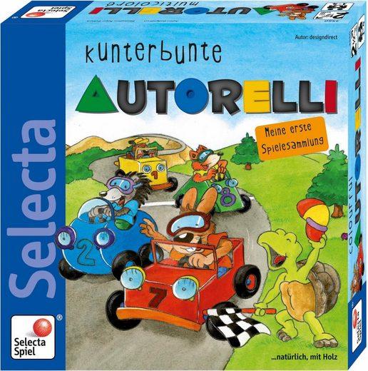 Selecta Spielesammlung, »Kunterbunte Autorelli«, Made in Germany