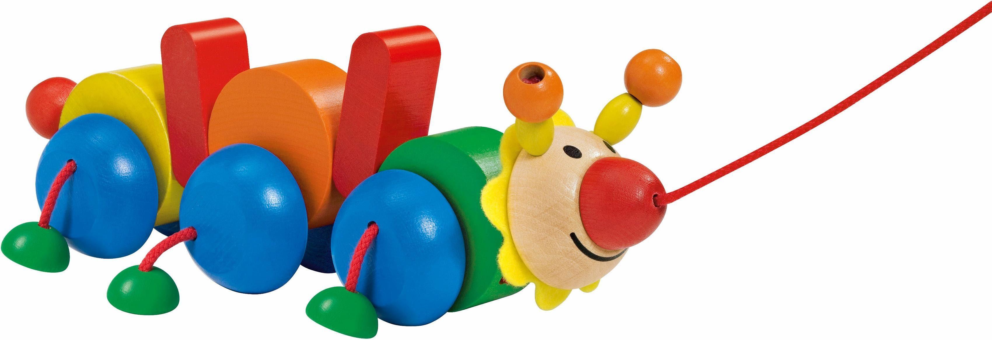 Selecta Nachziehspielzeug aus Holz, »Raupe Bako«
