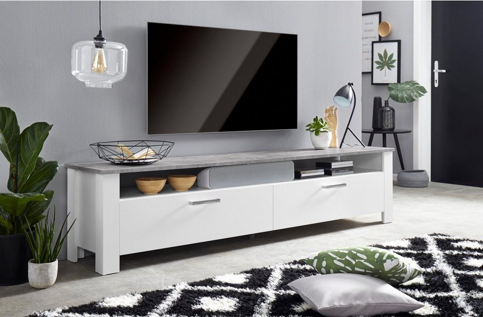 steinhoff zabona lowboard breite 200 cm kaufen otto. Black Bedroom Furniture Sets. Home Design Ideas
