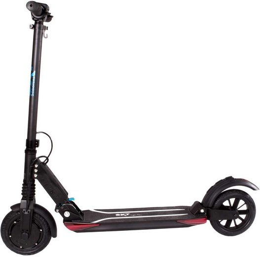 SXT Scooters E-Scooter »SXT light Plus / Facelift«, 500 W, 30 km/h, (Set, mit Schutzblech)