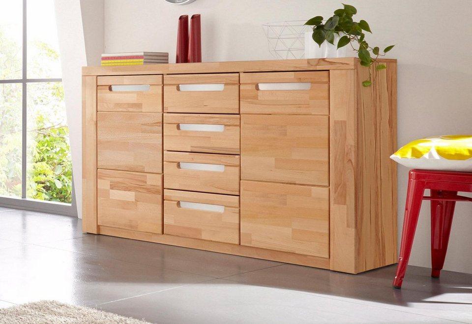 sideboard kolding breite 140 cm mit 4 schubk sten. Black Bedroom Furniture Sets. Home Design Ideas