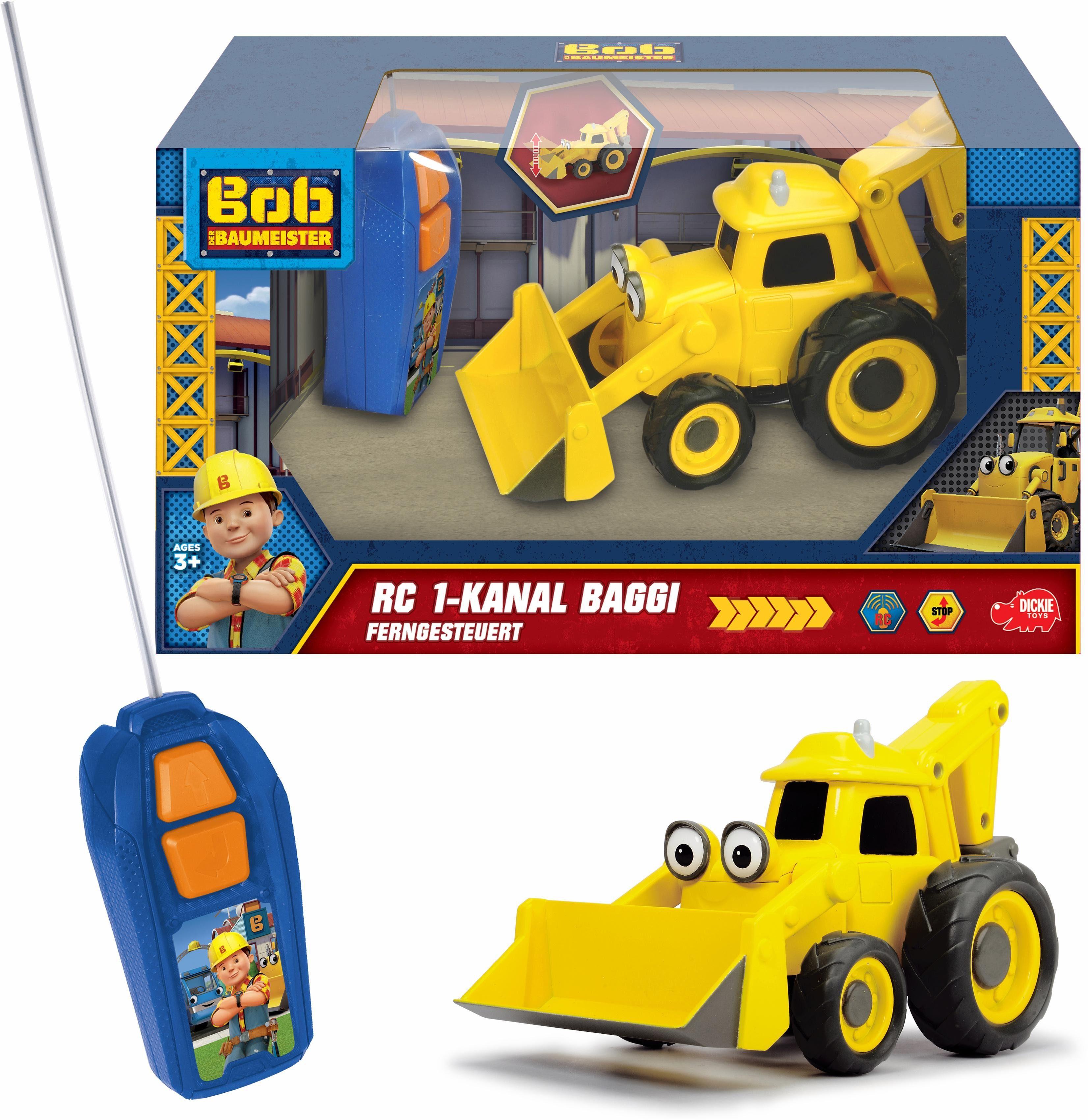 Dickie Toys Ferngesteuerter Radlader, »Bob der Baumeister, Scoop«