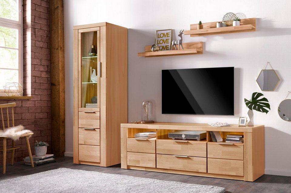 wohnwand zara 4 tlg online kaufen otto. Black Bedroom Furniture Sets. Home Design Ideas