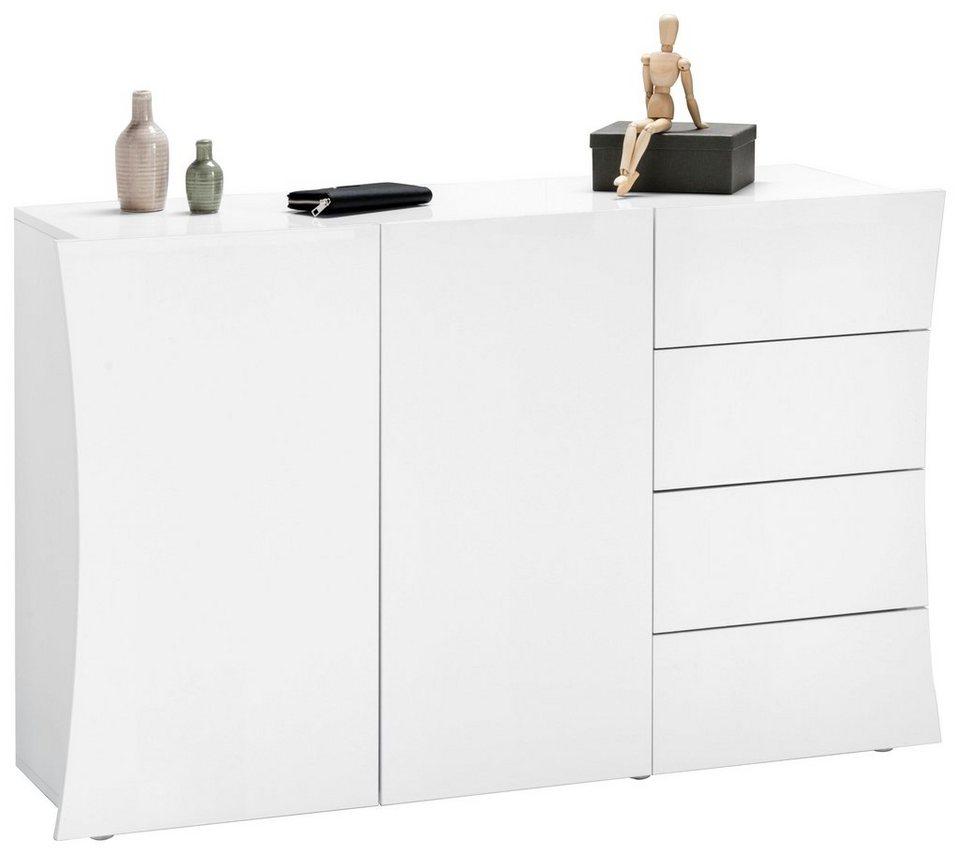 kommode arco breite 130 cm grifflose optik otto. Black Bedroom Furniture Sets. Home Design Ideas