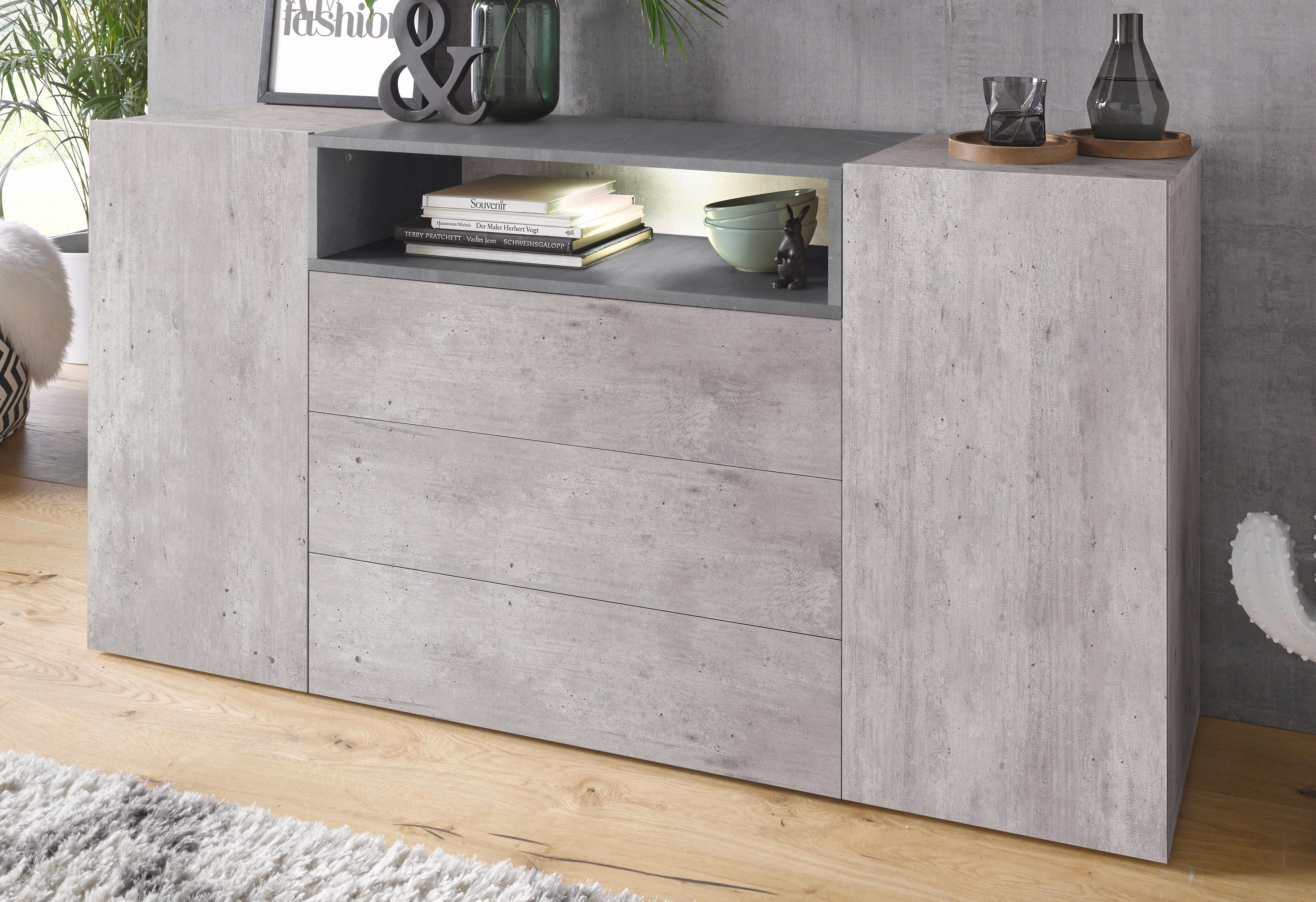 Attraktiv Tecnos Sideboard »Negroni«, Breite 160 Cm