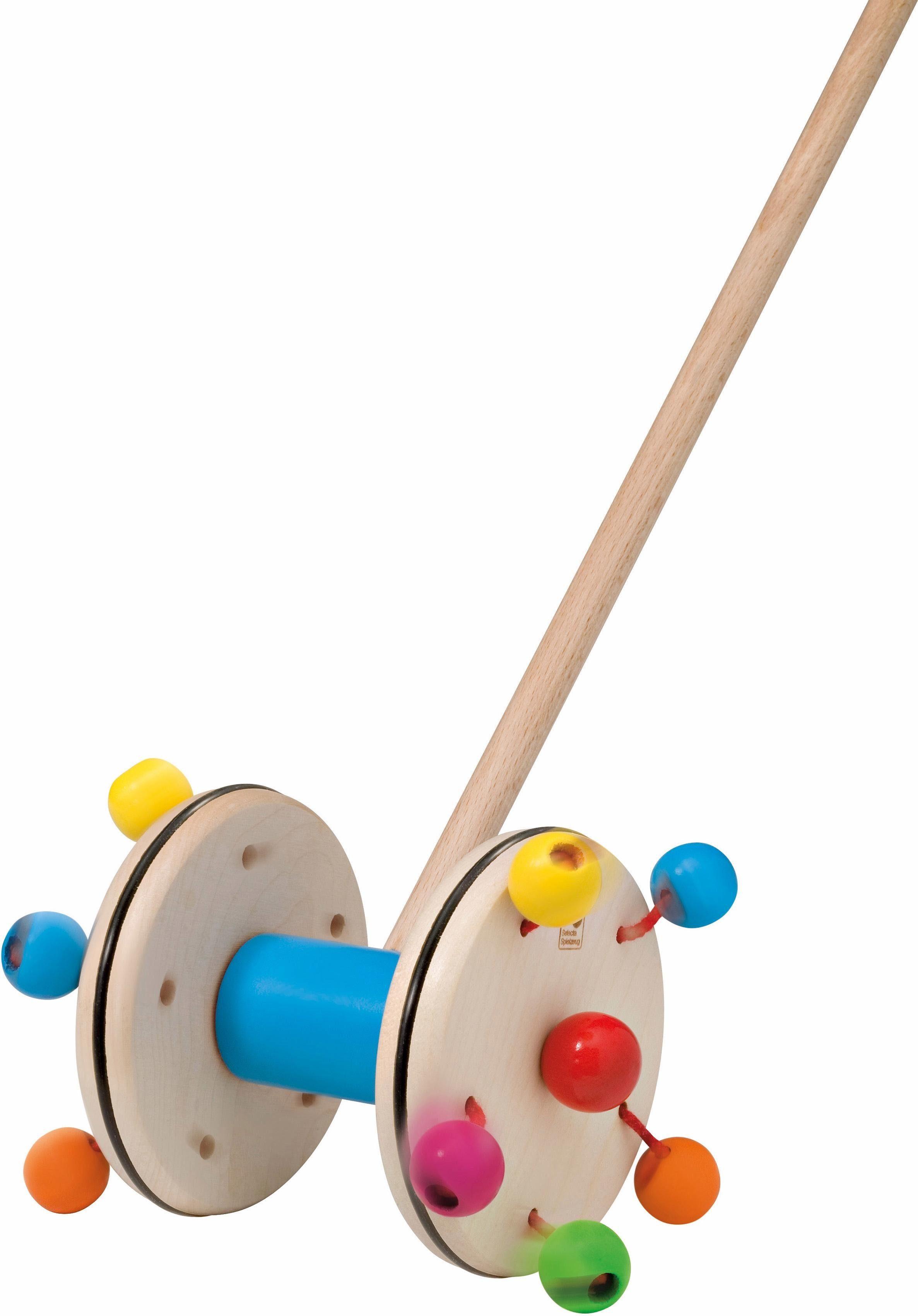 Selecta Schiebestab aus Holz, »Roller«