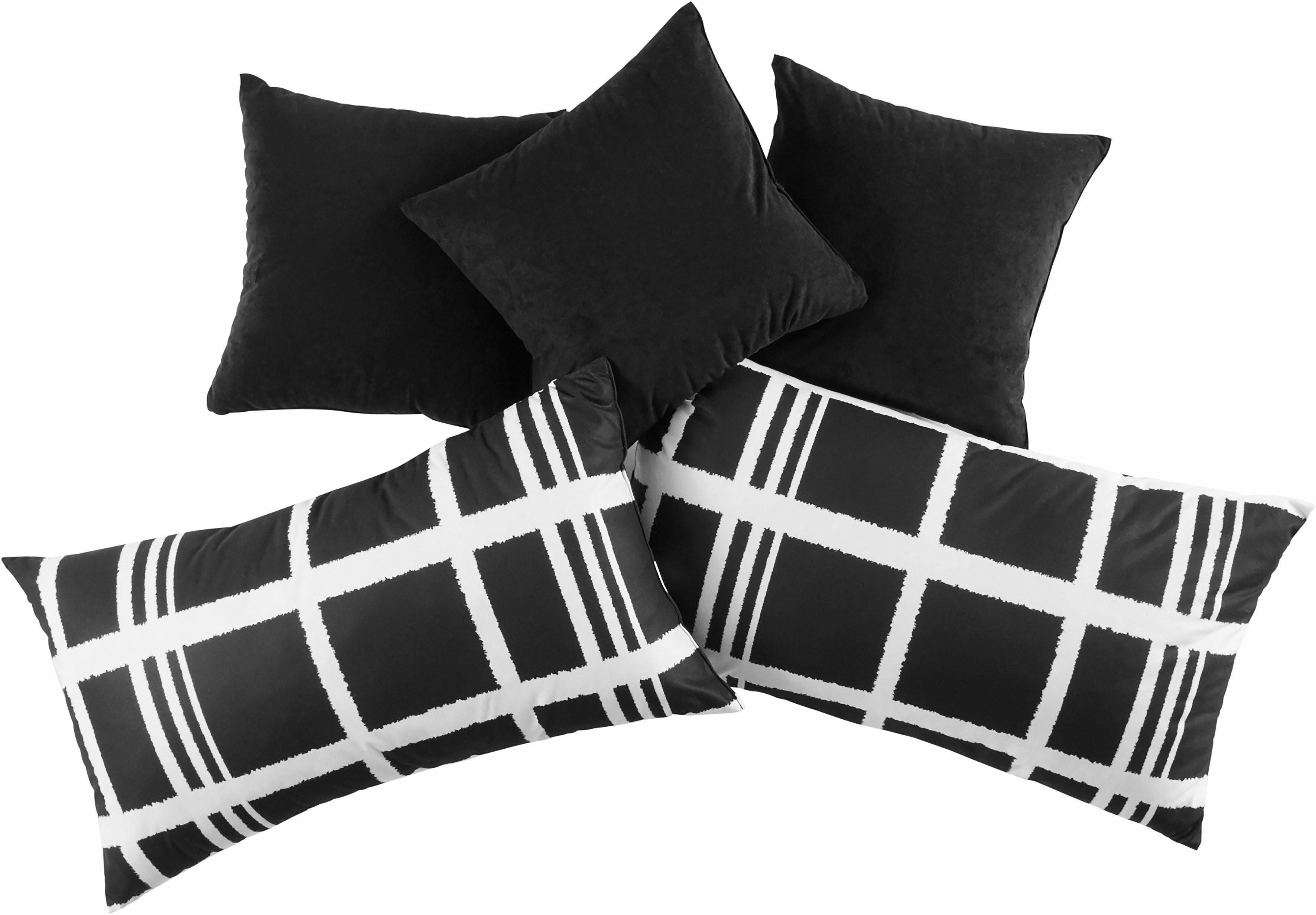 Westfalia Schlafkomfort Kissen-Set, (5-tlg.)