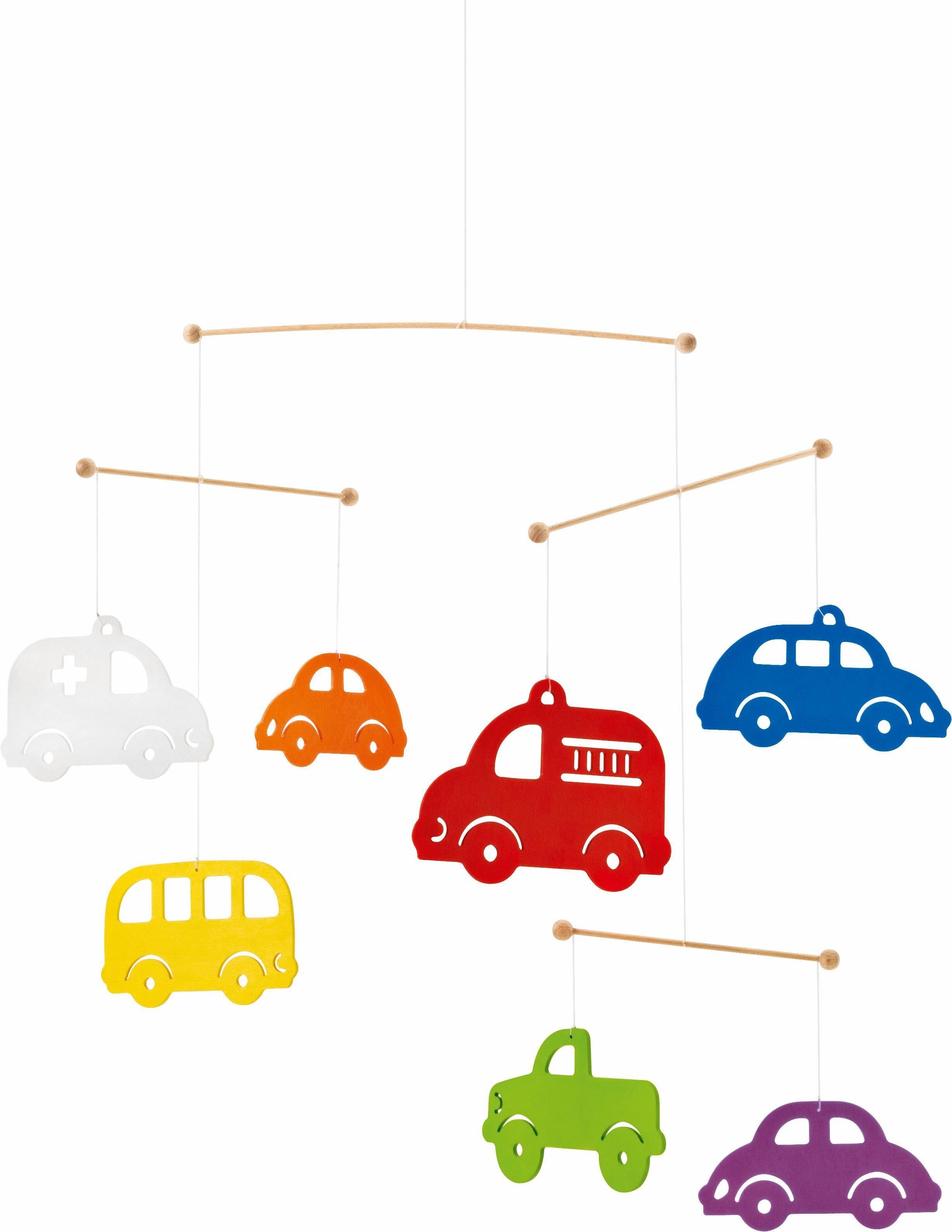 Selecta Mobile aus Holz, »Bunte Autos«