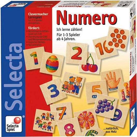 Selecta Lernspiel aus Holz, »Numero«