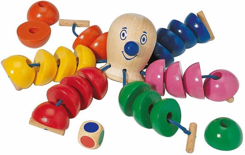 Selecta Spiel, »Der kunterbunte Ottokar«, aus Holz