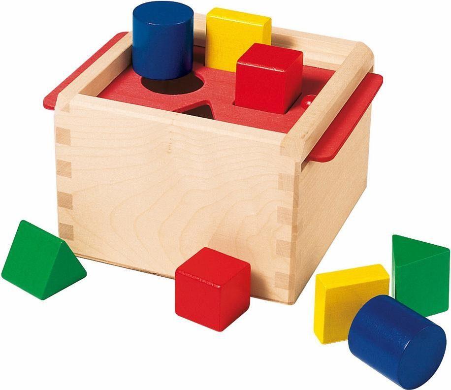 Selecta Steckspiel aus Holz, »Sortierbox«