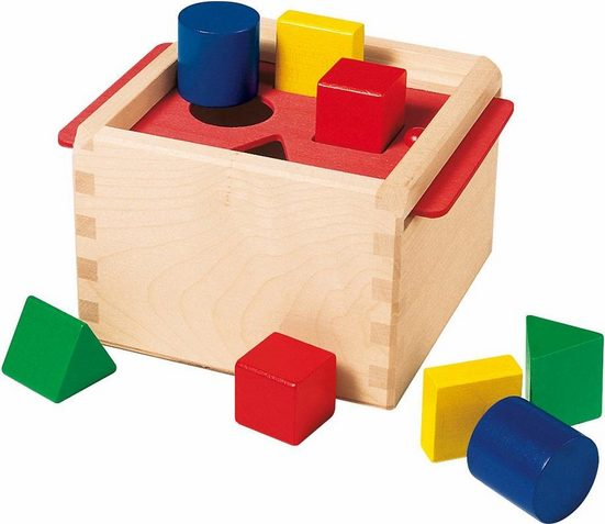 Selecta Steckspielzeug »Sortierbox«, aus Holz, Made in Germany