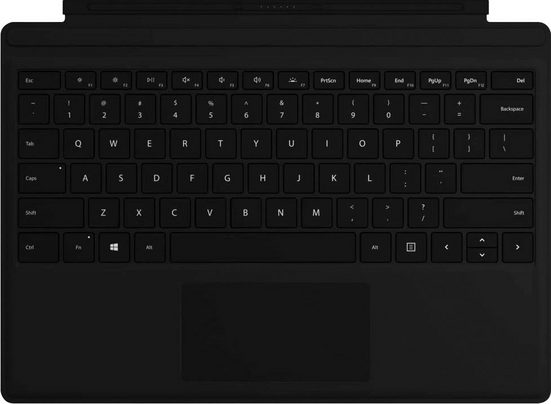Microsoft »Surface Pro Signature Type Cover« Tastatur mit Touchpad