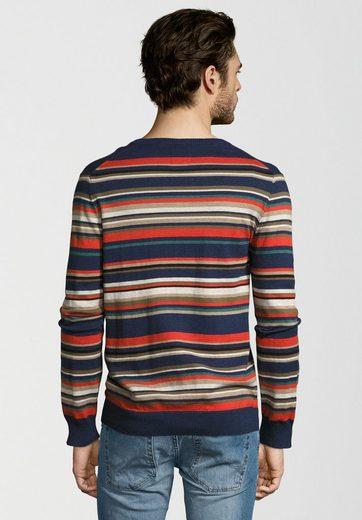 Pepe Jeans Strickpullover FLEET, Ziernähte