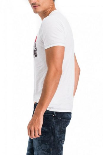 T-shirt Jeans Salsa, Kurzarm