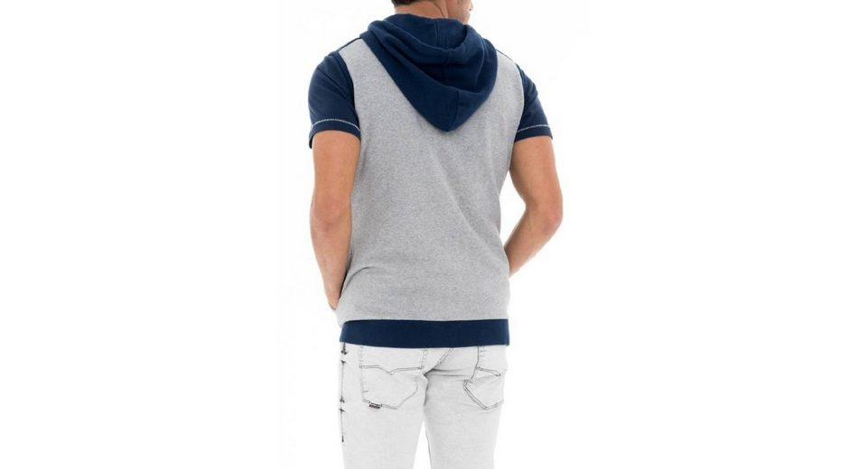 salsa jeans Langarm T-Shirt PALM BEACH Extrem Verkauf Online AuibGL