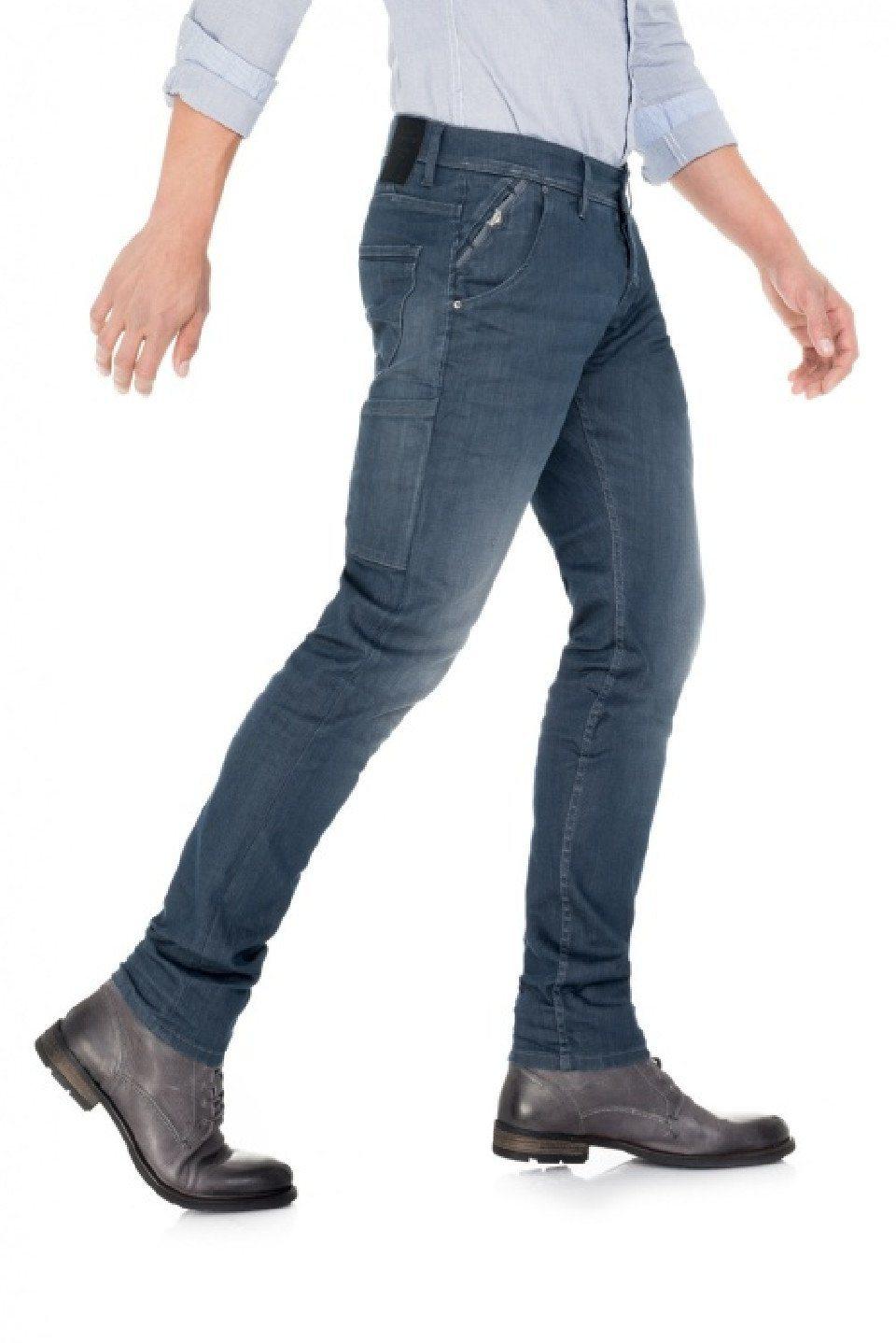 Herren salsa jeans Jean Anthony blau, schwarz | 05604562773003