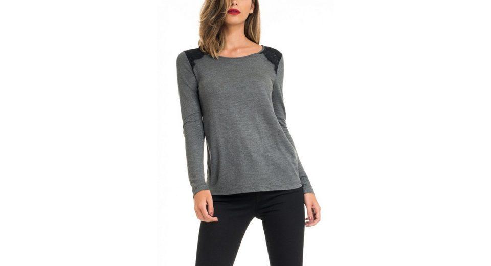 salsa jeans T-Shirt mit Arm VICTORIA Günstig Kaufen Modisch jxUbcaV