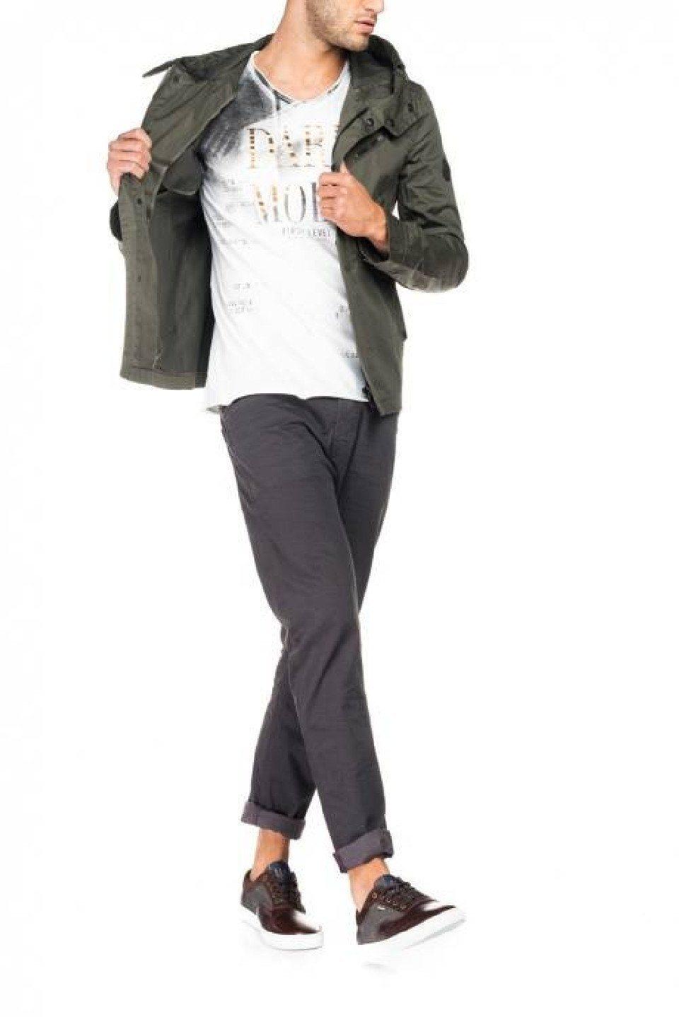 Herren salsa jeans Outdoorjacke UTAH grün, rosa | 05604562539920