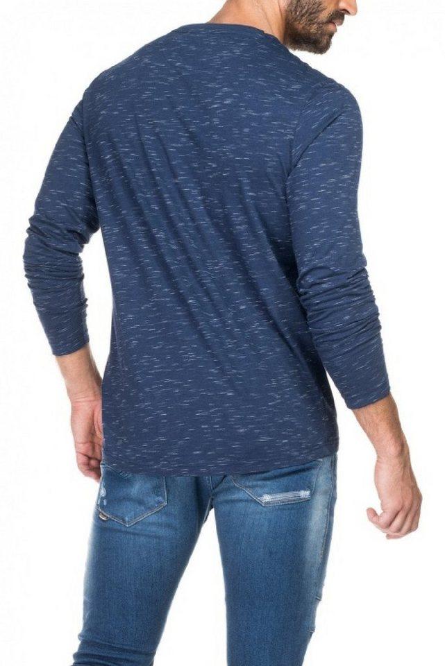 - Herren salsa jeans Langarm T-Shirt BOSTON blau, grau, grün, schwarz   05604562671439