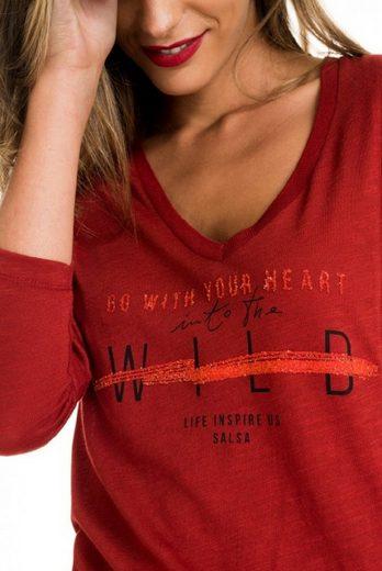salsa jeans T-Shirt mit Arm TULSA