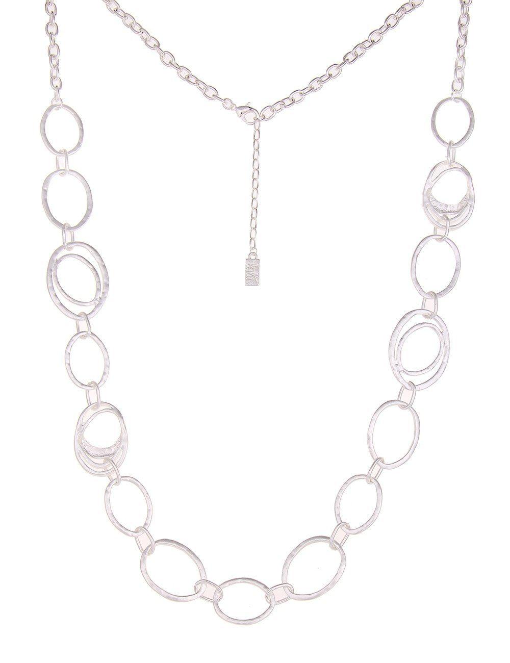 Leslii Halskette mit ovalen Gliedern