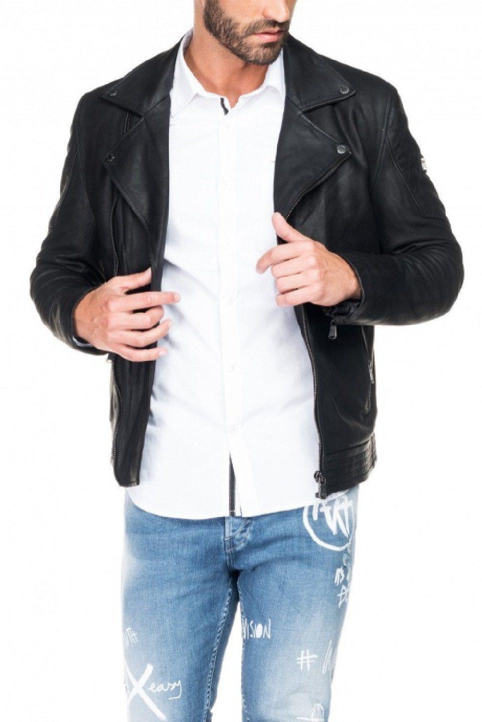 Herren salsa jeans Outdoorjacke ORLANDO blau, schwarz | 05604562685177