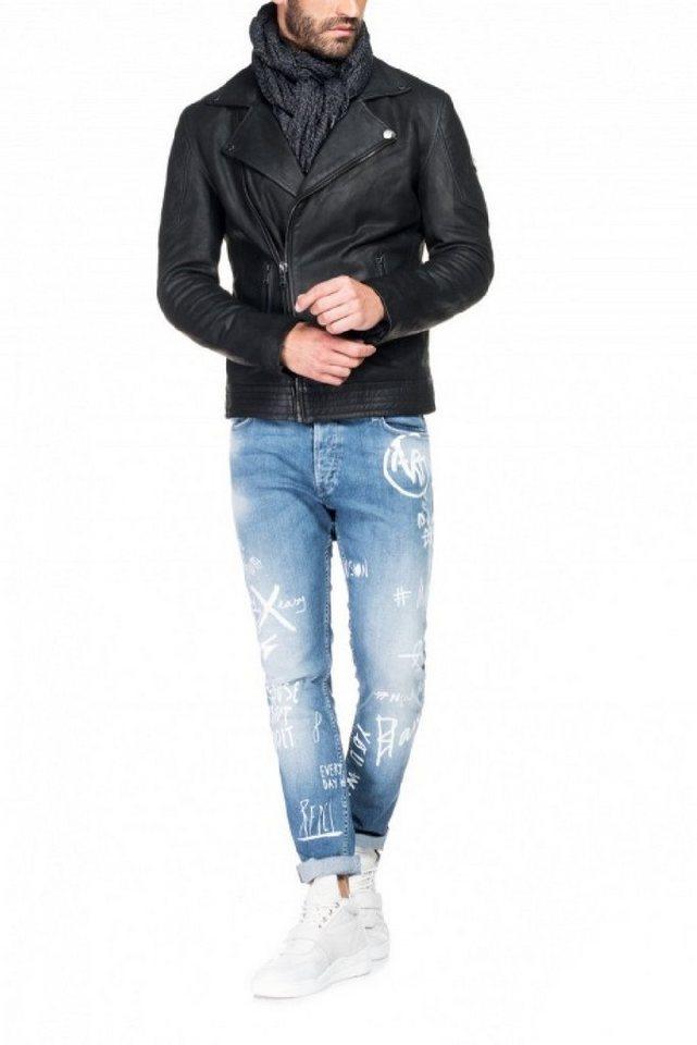 - Herren salsa jeans Outdoorjacke ORLANDO blau, schwarz | 05604562685177