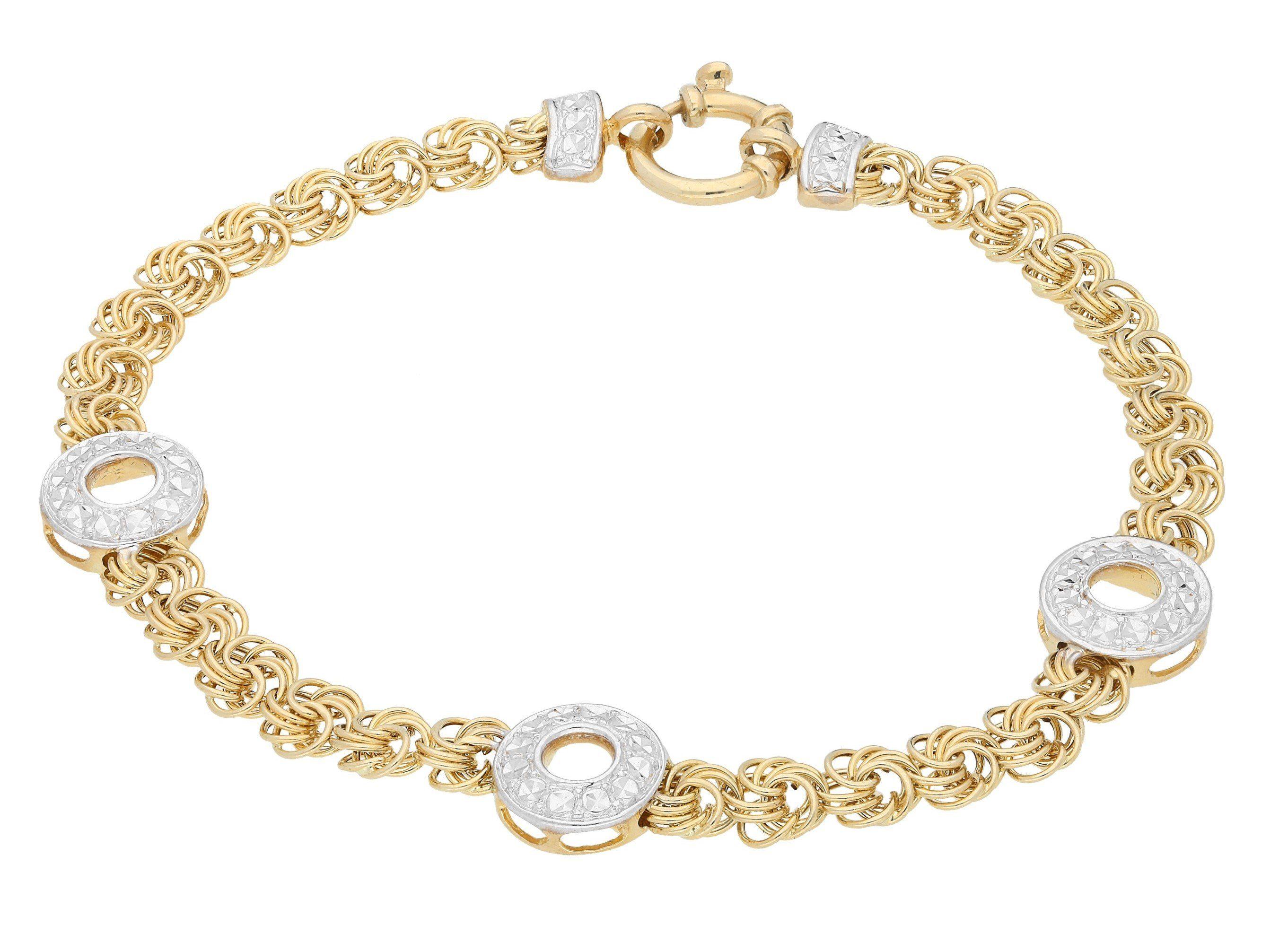 Firetti Armband »bicolor«