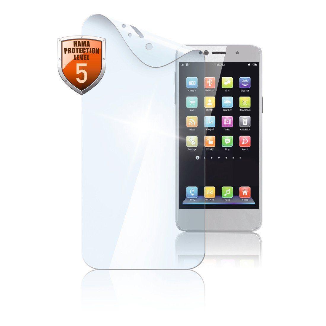 Hama Display-Schutzfolie Crystal Clear für Sony Xperia XZ1, 2 Stück