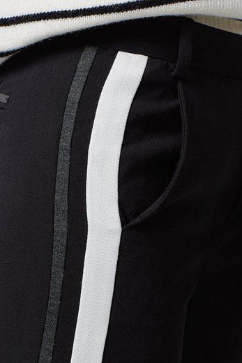 ESPRIT Web-Stretch-Hose mit zwei Galonstreifen