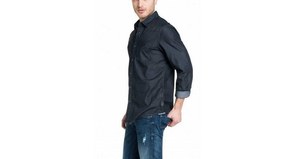 salsa jeans Hemd DENMARK Fabrikpreis Spielraum Klassisch 5DqHF