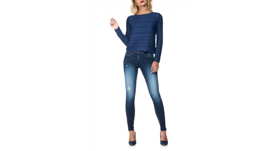 salsa jeans Pullover ESTRELA Footaction Günstiger Preis Offizieller Günstiger Preis Größte Anbieter Günstig Online Freies Verschiffen Kauf lxVJs