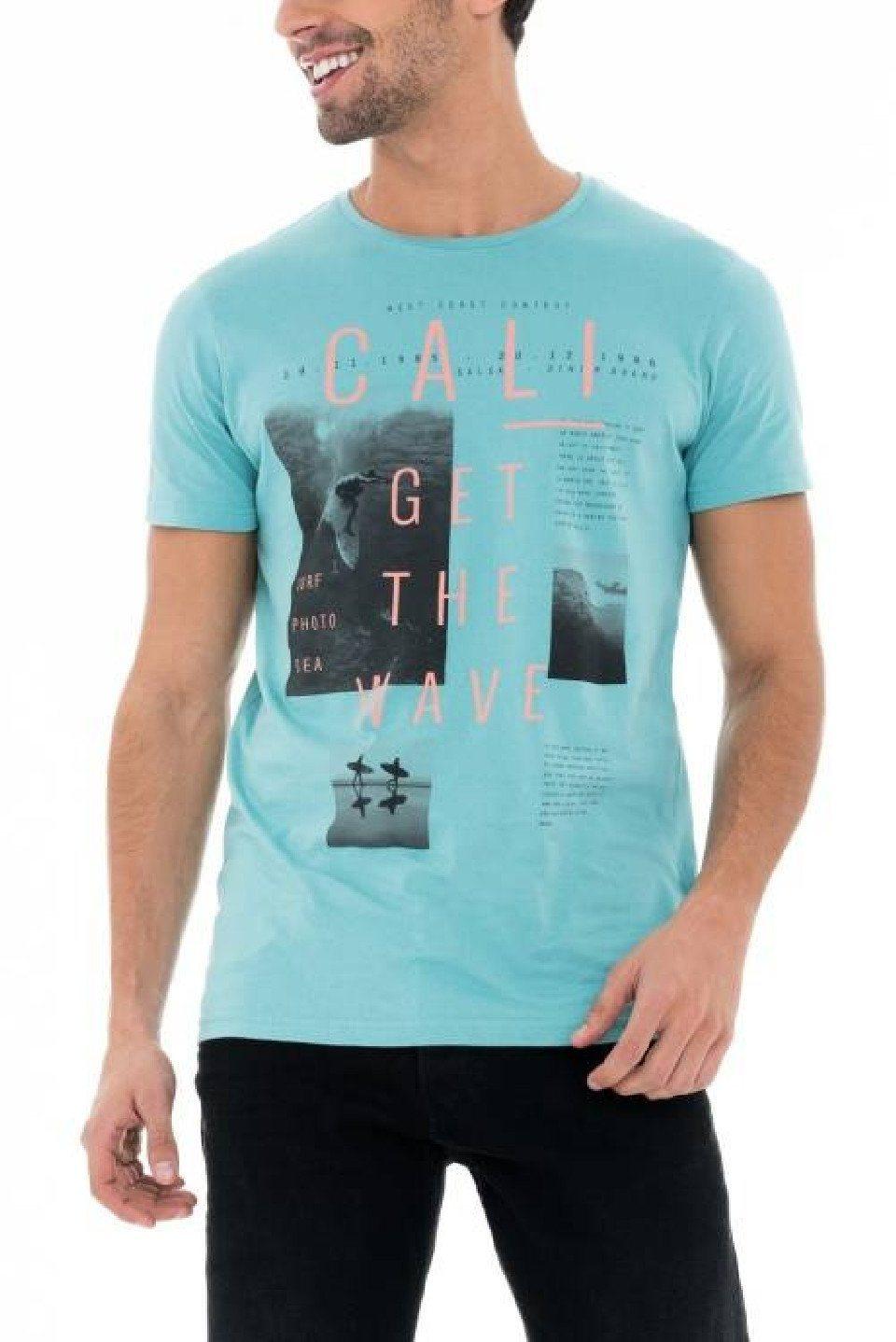 salsa jeans T-Shirt, kurzarm »PALM BEACH«
