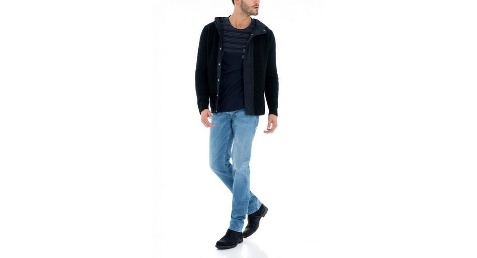 salsa jeans Strickjacke CAMBRIDGE Freies Verschiffen Preiswerteste bqsfb4K0