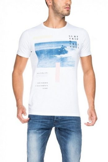 salsa jeans T-Shirt, kurzarm PALM BEACH