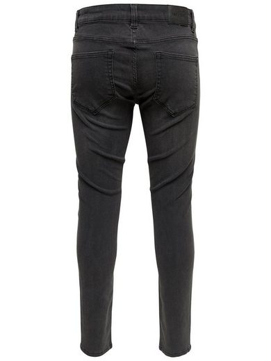 Only & Sons Warp Grey Slim Fit Jeans