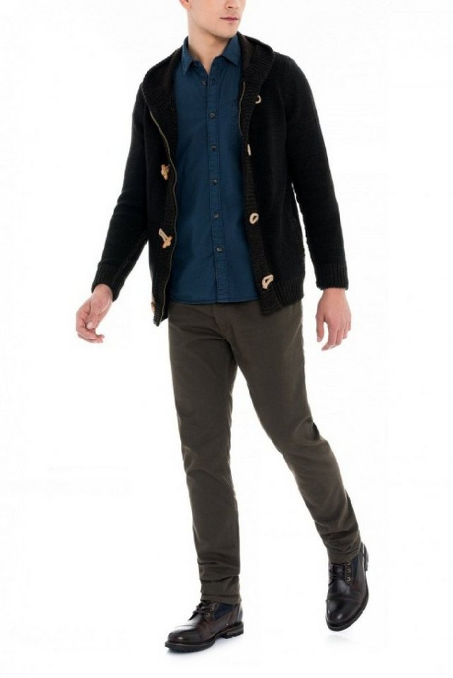 - Herren salsa jeans Strickjacke CAMBRIDGE blau, braun, schwarz   05604562814539
