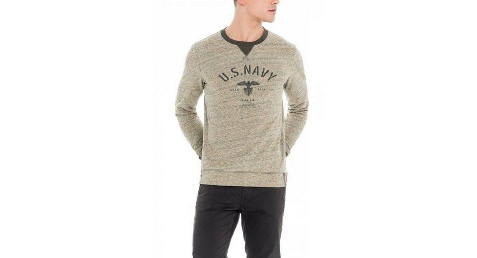Günstig Kaufen Schnelle Lieferung salsa jeans Langarm T-Shirt LOS ANGELES Billig Verkauf Offiziell Großer Rabatt 2htxqALNt