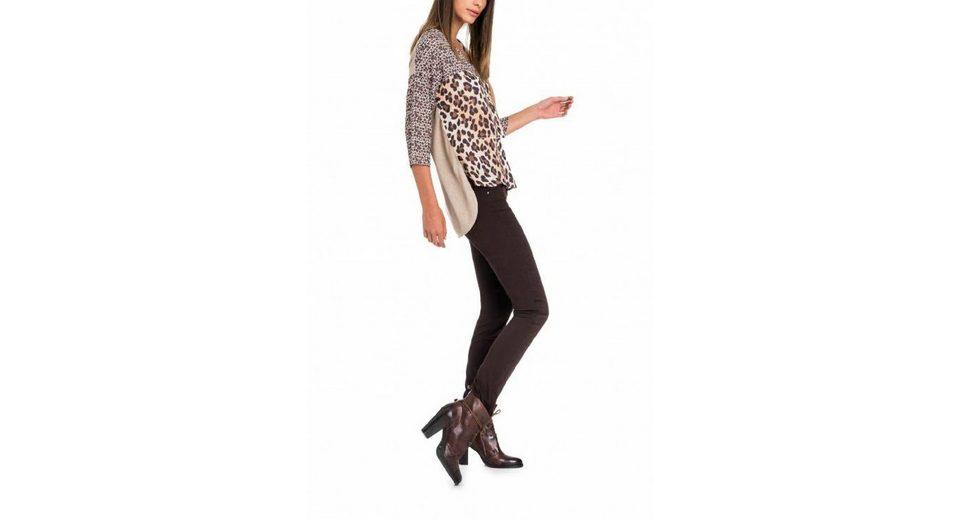 salsa jeans T-Shirt mit Arm ARRÁBIDA Hohe Qualität Günstiger Preis UYBLUjrKs
