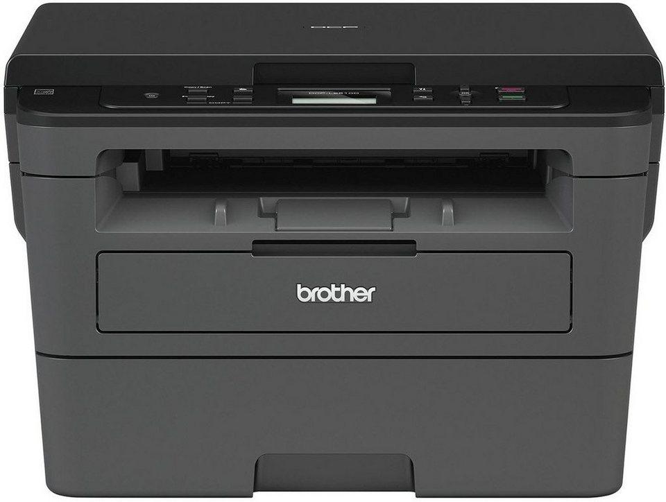 brother monolaser multifunktionsdrucker dcp l2510d 3in1. Black Bedroom Furniture Sets. Home Design Ideas