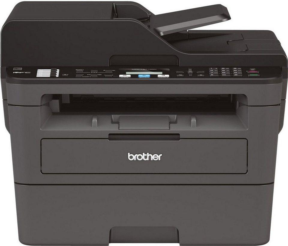 brother monolaser multifunktionsdrucker mfc l2710dn 4in1. Black Bedroom Furniture Sets. Home Design Ideas